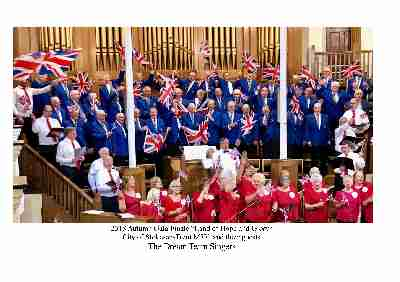 LAND OF HOPE AND GLORY WITH THE DREAM TEAM SINGERS